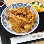 天茂 - 天丼(鱚・穴子) @1,300円