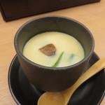海老天丼 こし - 茶碗蒸し