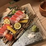 酒菜 田の神 - 金目鯛の刺し身