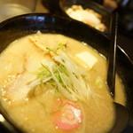 らー麺 とぐち - 白みそ + チャー丼