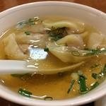 海鮮広東料理 中華料理 昌園 - 大きな肉包みワンタンで満腹です♪(2-17.1.13)