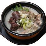 辰家 - スンデクッパ(スンデ入り豚骨スープ)