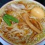 みずさわ屋 - 平成28年12月31日 中華そば(煮卵入り) 723円