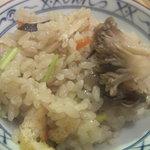 柚多香 - 8.キノコの香り、京の恵みの混ぜご飯