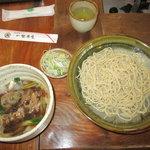 一里茶屋 - 料理写真:鴨汁
