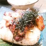 ぼちぼち - 焼おにぎり、味噌のっけ焼き