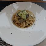 cafe&restaurant 360 - 「藻琴産牡蠣とネギのジャポネクリーム」