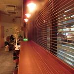 ホワイトバード コーヒー スタンド - カウンター