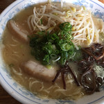 丸太小屋 - 味噌ラーメン 大  750円
