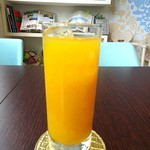 カフェ箱塚 - オレンジジュース