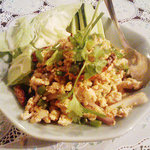 タイカントリー - ラープ・ガイ。鶏挽肉のハーブ和え