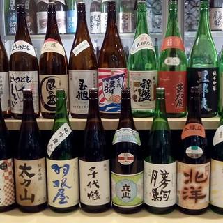 ☆富山県内20蔵100種の日本酒♪