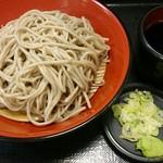 名代 富士そば - もり蕎麦。