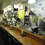 味の札幌 - カウンター席