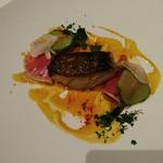 61204841 - 魚料理 タラのロースト ブイヤベースソース