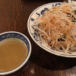 新木村 - セットのサラダとスープ