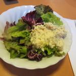 ラ・フェスタ - ランチのサラダ