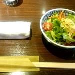 ステーキしま - サラダ