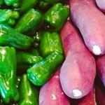 さんち家 - 新鮮な野菜。