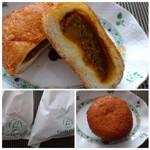フルフル天神パン工房 - ◆カレーパン(167円)」・・フィリングがタップリ。程よい辛さで美味しいカレーパンです。 ただお子さんには少し辛いかも。
