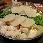 ぶんちん - モツ鍋*スープ炊き