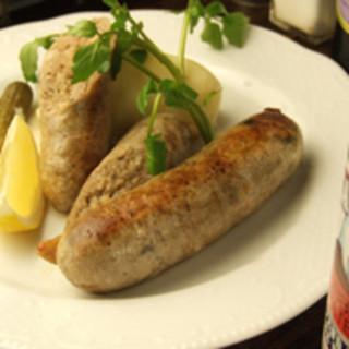 【当店自慢のメニュー】自家製牡蠣のソーセージ
