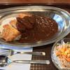 Wスパイス - 料理写真:カツカレー(小盛り)