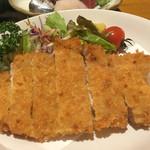 鮮味食彩 宇佐川水産 - 豚カツ(豚カツ定食)