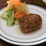 洋食屋牛銀 - 和風ハンバーグ単品