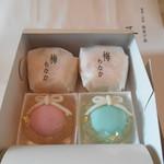 五島 - 梅もなか&クリスマス仕様の生菓子♡