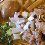 麺極 はなみち - らー麺・豚・カレー(アップ)