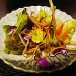61219087 - 蕎麦善(サラダ)