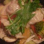大鳳餃子 - 蒸し水餃子
