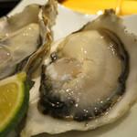 鮨割烹 廉 - 殻生牡蠣 的矢