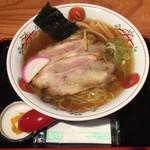 一寸亭 - チャーシューメン ¥900