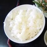 キッチンあべ - ライス