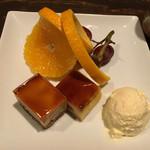 61226007 - 本日のケーキ:りんごのシブーストキャラメリゼ
