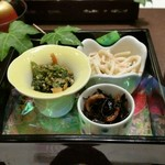 61226268 - 海鮮丼の小鉢