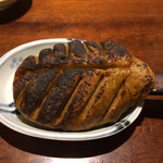 京金 - そばがきのつけ焼き(750円)