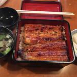 うなぎの沢栄 - 料理写真:うな重 中 (3500円)