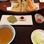 長岡屋 - 天ぷら蕎麦