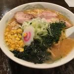 麺屋大志 - 「みそラーメン(辛みそなし)」