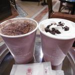 アンティコカフェ アルアビス - ホットチョコレートともう一つ