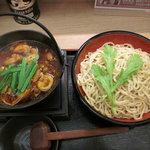 ラーメン 天下喜 - ピリ辛豚ホルモンつけ麺(500g)【2010年12月】