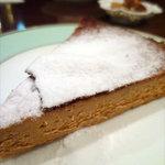 トラットリア・ソル・レヴァンテ - キャラメルチーズケーキ