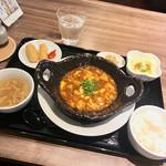 中華ダイニング 菜演 - 麻婆豆腐ランチ