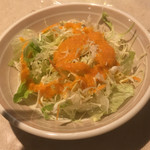 チナール - セットのサラダ