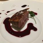 リストランテ イル バンビナッチョ - ブルゴーニュの鴨肉