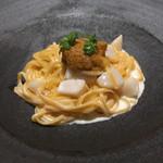 リストランテ イル バンビナッチョ - 雲丹のパスタ