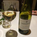 リストランテ イル バンビナッチョ - 白ワイン シャルドネ 北イタリア